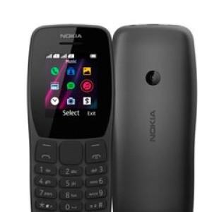 "Teléfono celular básico Nokia 110, 1.77"", GSM, Radio FM, Dual Sim, Desbloqueado. Banda 2G (900/1800 MHz), Teclado numérico, 4MB de Almacenamiento interno, Ranura para memoria SDHC, Conector m"
