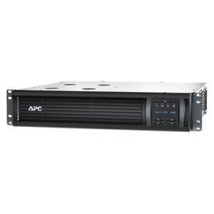 UPS Smart APC SMT1000RMI2U, 1kVA, 700W, 230V, 2U, Linea Interactiva. Autonomía a plena carga 8min (700W), autonomía a media carga 31 min. (350W), conexión de entrada IEC-320 C14, conexion de