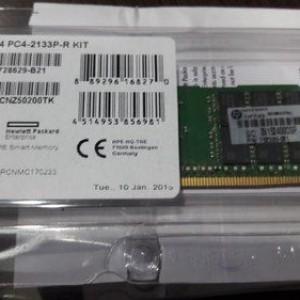 Memoria  RAM HPE - 32 GB (1 x 32 GB) - DDR4 SDRAM - 2133 MHz DDR4-2133/PC4-2133 - Registrado - CL15 - DIMM  774175-001 752370-091