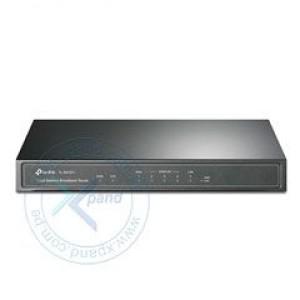 Router Ethernet TP-Link TL-R470T+, 1 WAN, 1 LAN, 3 WAN/LAN, 10/100 Mbps. 1 puertos RJ-45 WAN 10/100 Mbps, 1 puerto RJ-45 LAN 10/100 Mbps, 3 puerto RJ-45 WAN/LAN 10/100 Mbps, estándares IEEE 8