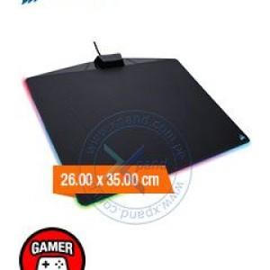 Mouse Pad Gaming Corsair MM800 Polaris RGB, 26.00 x 35.00 cm, 5 mm, USB. Puerto USB libre, nuevo nivel de inmersión Led, combina una superficie de microtextura de fricción baja con una amplia