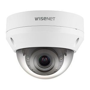 Cámara de red Wisenet QNV-6082R 2Megapíxel HD - Monocromo - Cúpula - 30m - H.265, H.264, MJPEG - 1920 x 1080 - 3.20mm- 10mm Zoom Lentes - 3.1x Óptico - CMOS - Fijacion en techo, Soporte de Pa