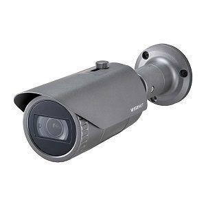 Cámara de red Wisenet QNO-8080R 5Megapíxel HD - Bala - 30m - H.265, H.264, MJPEG - 2592 x 1944 - 3.20mm Zoom Lentes - 3.1x Óptico - CMOS - Montable en poste