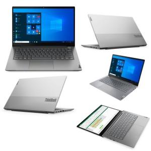 "Notebook Lenovo ThinkBook 14 G2 ITL, 14"" FHD TN, Core i7-1165G7 2.8 / 4.7GHz, 8GB DDR4 512GB SSD M.2 2242 PCIe 3.0x4 NVMe, Video NVIDIA GeForce MX450 2GB GDDR6, Audio High Definition (HD) / R"