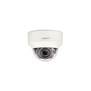 Cámara de red Wisenet XND-6080RV 2Megapíxel HD - Monocromo, Color - Cúpula - 30m - MPEG-4 AVC, MJPEG, H.264, H.265 - 1920 x 1080 - 2.80mm- 12mm Zoom Lentes - 4.3x Óptico - CMOS - Soporte de P