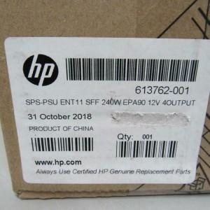 Fuente HP 240W Power Supply D10-240P1A Rev.C  611481-001 PN 613762-001 para Elite 8300 SFF, HP  Pro 6300 SFF.  6200 PRO SFF, 8100 Elite SFF. SP#:  HP Z220 SFF Workstaions - Sgundo Uso Garanti