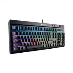 Teclado Corsair K68 RGB , mecánico, Multimedia, USB. El teclado mecánico de larga duración CORSAIR K68 RGB combina una viva retroiluminación RGB en cada tecla, resistencia al agua y al polvo