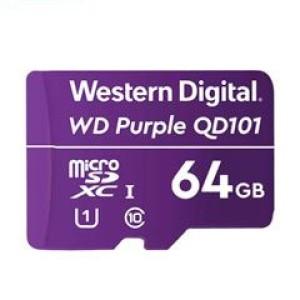 WD Purple SC QD101 WDD064G1P0C - Tarjeta de memoria flash - 64 GB