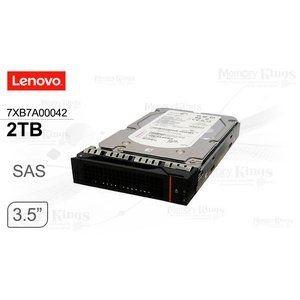 """Disco duro Lenovo 7XB7A00042, 2TB, SAS 12 Gbps, 7200 RPM, 3.5"""", Hot-Swap, 512n."""