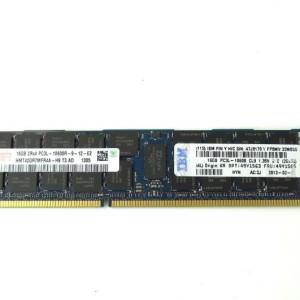 49Y1563  47J0170 IBM - Memory - 16 GB - DIMM 240-pin low profile - DDR3 - 1333 MHz / PC3-10600 - CL9 - 1.35 V - registered - ECC - for System x3550 M3 7944; x3630 M4 7158; x3650 M3 7945
