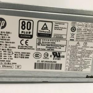 Fuente de Poder HP ProDesk 600 800 G2 200W 4-Pin 12V 796349-001  796419-001  - Retirado de Equipo en Uso Garantia 12 Meses