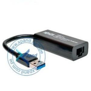 Adaptador de red Trippe-Lite U336-000-R, USB 3.0 SuperSpeed a Gigabit Ethernet. Cumple con los estándares IEEE 802.3 (10Base-T) y 802.3u (100Base-TX), soporta IEEE 802.3az (Ethernet eficiente