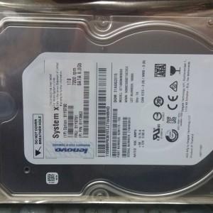IBM 1TB 7.2K 6GBPS NL SATA-600 7200 RPM 3.5IN G2HS HARD DRIVE 81Y9791 81Y3863 - Grantia  12 Meses
