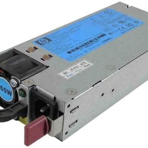 Fuente HP 460W  Hot Swap  para DL360 G6 DL360 G7 DL380 G6 DL380 G7 ML350 G6 ML370 G6  503296-B21   499250-001   499249-00 - Retirado de Equipo en uso