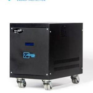 Estabilizador Elise Ieda Poder Safe LCR10K-4.5%, Solido, 10kVA, 220V, Bornes de salida.