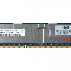 Memoria 500666-B21 500207-071 HP 16GB (1X16GB) 4RX4 PC3-8500  - Estuche
