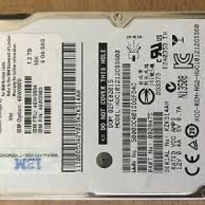 """Disco IBM 1.2TB 10K 6Gb/s 2.5"""" SAS  46W0983 46W0984 46W0980 HUC101212CSS600"""