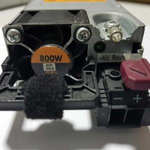 Fuente de Poder HP 800W Flex slot DC para Servidores HP G9  754382-001 735051-401   720480-B21  Retirado de Equipo en Uso Garantia 12 Meses  Nota Fuente de Corriente DC