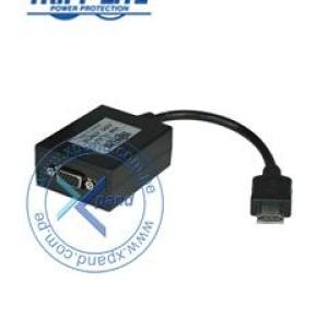 Convertidor Tripp-Lite P131-06N, de HDMI a VGA con Audio, 1920 x 1200 (1080p). Envíe audio/video desde una PC / notebook / laptop / Ultrabook u otra computadora con un puerto de salida HDMI a
