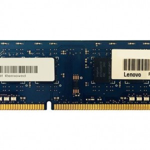 IBM Lenovo 2GB PC3-12800 DDR3-1600MHz non-ECC Unbuffered CL11 240-Pin DIMM Memory Module Mfr