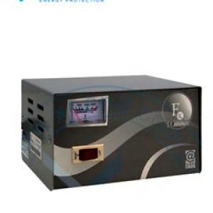 Estabilizador Elise - Fase FXE-10, Sólido, 1.0kVA, 4 tomas a 220VAC, 1 toma By-pass. El FXE-10 de la familia FASE, con diseño moderno y compacto ofrece una mejor respuesta a las variaciones