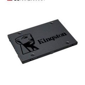 """Unidad de Estado Solido Kingston A400, 960GB, SATA 6.0 Gb/s, 2.5"""", 7mm. Velocidad de escritura 450 MB/s, velocidad de lectura 500 MB/s, NAND TLC."""
