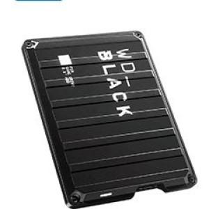 Disco duro externo Western Digital Black P10 Game Drive, 4 TB, USB 3.2 Gen 1 hasta 5GB/s