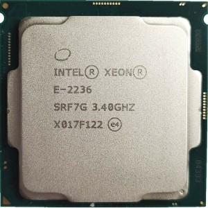 Procesador Intel Xeon E-2236 3.4-4.8GHz 6 Core 12MB 80W LGA1151- OEM sin Caja