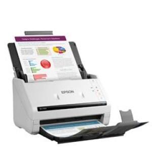Escáner de documentos Epson DS-770 II USB 3.0 de alta velocidad, Sensor Optico Color (CIS) El poder de escanear grandes volúmenes de documentos de forma más rápida y eficiente. Tipo de escán