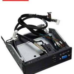 "Panel frontal Lenovo 00MV367, 2 USB, 1 VGA, Power, 5.25"", para Lenovo System x3550 M5."