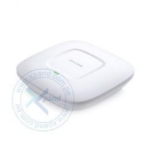 Access Point TP-Link EAP115, Indoor, 2.4 GHz, 802.11 b/g/n, 3dBi, 300Mbps, PoE. 1 puerto RJ-45 LAN 10/100 Mbps, estándares Wireless 802.11 b/g/n, seguridad WEP 64/128/152-bit / WPA / WPA-PSK