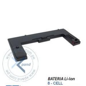 Bateria HP Extended Life Travel, Li-ion, 8 celdas, para HP NC4200, NC6100, NC6200, NC8200. Presentacion en Caja.
