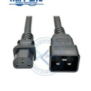 Cable poder de PDU Tripp-Lite P032-007, 250V, 15A, 12AWG, C13 a C20, 2.13 mts.