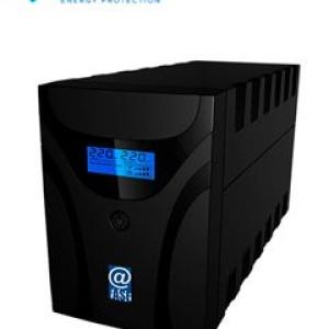 UPS Interactivo Elise Fase, AUR-1500-LCD-USB, 1500 VA / 900 W, Puerto inteligente USB-HID. Rango de Voltaje de Entrada: 220VAC: (162 a 268 VAC) / 230VAC: (170 a 280 VAC). Voltaje Nominal de S