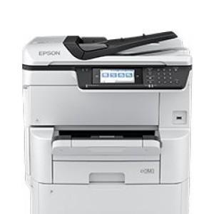Multifuncional de tinta Epson WorkForce Pro WF-C878R , imprime/escanea/copia/fax/WiFi. Imprime 25 (Negro) / 24 (Color)ppm (simplex) / 17 (Negro) / 16 (Color)ppm (duplex) 4800 x 1200 dpi, esca