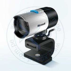 Cámara de vídeo conferencia MIcrosoft LifeCam Studio, para la Oficina, USB 2.0. Sensor CMOS, resolución de sensor 1920x1080, interfaz USB 2.0, rotación de 360°, micrófono de banda ancha.