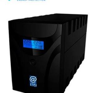 UPS Interactivo Elise Fase, AUR-1200-LCD-USB, 1200 VA / 600 W, Puerto inteligente USB-HID. Rango de Voltaje de Entrada: 220VAC: (162 a 268 VAC) / 230VAC: (170 a 280 VAC). Voltaje Nominal de S