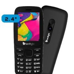 "Teléfono celular básico LandByte LT1035, 2.4"" 240x320, Dual SIM, Radio FM, Desbloqueado Banda 2G (850/900/1800/1900 MHz), conectividad Bluetooth, procesador Spreadtrum SC6531, memoria RAM 32"