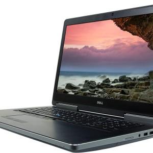 Alquiler Mensual de Notebook Dell Precision 7710 Procesador i7-6820HQ 2.7Ghz Memoria RAM 16GB Disco M.2 SSD 512GB Pantalla de 17.3 Teclado Ingles