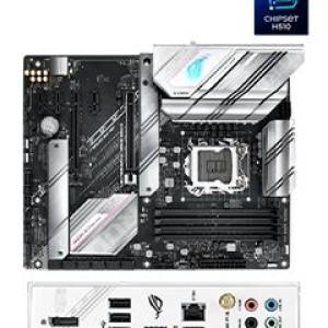 Motherboard Asus ROG STRIX B560-A GAMING WIFI, Intel B560, LGA1200, DDR4, LAN, WiFi+BT 5.0 Soporta procesadores Intel Socket LGA1200 para 11va Gen /  10ma Gen Core / Pentium Gold /  Celeron,
