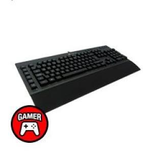 Teclado Gamer K55, Multimedia, USB 2.0, Idioma Español, Luminosidad Led.