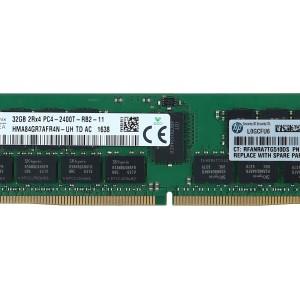 Memoria  RAM HPE - 32 GB  DDR4 SDRAM - 2400 MHz DDR4-2400/PC4-19200 - 1.20 V - Registrado - CL17 - 288-pin - DIMM -819412-001 809083-091 Servidores G9 Dl380 G9 DL360G9 Pedido 20 dias