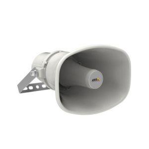 AXIS C1310-E Network Horn Speaker - Parlante IP para exteriores, PoE, IP66, IP67, NEMA 4X y MIL-STD-810G 509.5