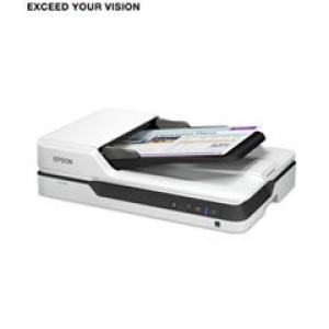Escáner de documento Epson DS-1630, 600dpi, 25 ppm, 10 ipm, ADF. Fuente de luz LED RGB, profundidad de color: 30-bits, capacidad del ADF: 50 paginas, resolucion de salida 1200 dpi, espesor de