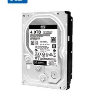 "Disco duro Western Digital Black, 4TB, SATA 6.0 Gb/s, 256 MB Cache, 7200 RPM, 3.5""."
