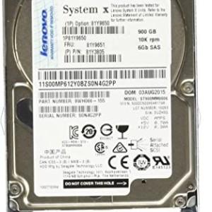 """81Y9650  81Y9651  81Y3805 IBM - Hard drive - 900 GB - hot-swap - 2.5"""" SFF - SAS-2 - 10000 rpm - for System x32XX M3; x3400 M3; x35XX M3; x3690 X5; x36XX M3 x3850 X5  x3950 X5 - Usado Garantia"""