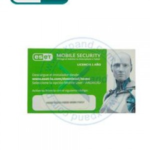 Antivirus ESET Mobile Security, licencia 1 año, Android, MPI Card.