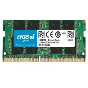 Modulo RAM Crucial para Portátil - 16GB (1 x 16GB) - DDR4-2666/PC4-21300 DDR4 SDRAM - 2666MHz - CL19 - 1.20V - No-ECC - Sin búfer - 260-pin - SoDIMM