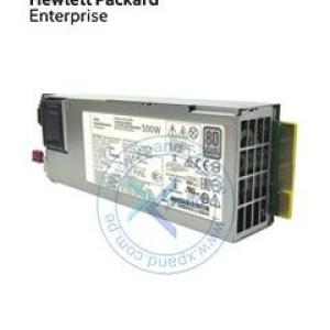 Fuente de alimentación HPE 865408-B21, 500W, 100V - 240VAC, 80 Plus Platinum, Hot-Plug.