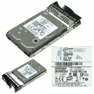 """Disco IBM  1TB 3.5"""" 7.2K SATA Compatible  43W7626 43W7629 42C0497 x3650 x3450 x3550 x4300"""